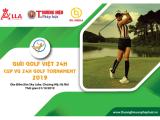 Giải đấu cúp Golf Việt 24H có hơn 150 golfer tham dự tranh tài với hệ thống giải thưởng khủng