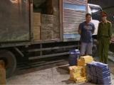 Thái Bình: Bắt xe tải vận chuyển hơn 54.000 bao thuốc lá nhập lậu