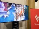 TV Vsmart lộ ảnh thực tế: Màn hình 55 inh 4K, sản xuất tại Việt Nam