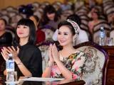 Nữ hoàng Hoa hồng Bùi Thanh Hương, siêu mẫu Hạ Vy 'đọ sắc' trên ghế giám khảo 'Người đẹp xứ Mường'
