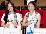 Hoa hậu đẹp nhất Châu Á Hương Giang đọ sắc người mẫu quốc tế Tuyết Lan