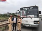 Bắc Giang: Ra quân tổng kiểm soát xe ô tô chở khách, xe ô tô chở công nhân