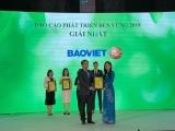 Bảo Việt 'có duyên' với ngôi vị quán quân Cuộc bình chọn DN niêm yết 2019