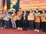 Hải Phòng: Thưởng lớn cho thủ môn Văn Toản và các VĐV tham dự SEA Games 30
