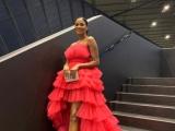 Loạt sao Việt chuộng váy lấy cảm hứng hoa sen của Lê Ngọc Lâm