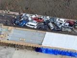63 ô tô đâm liên hoàn khiến nhiều người bị thương tại Mỹ