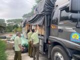 Quảng Nam: Phát hiện xe tải chở hàng hóa không rõ nguồn gốc