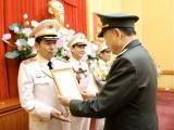 Thăng cấp bậc hàm Thiếu tướng cho Giám đốc Công an TP Hải Phòng