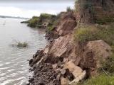 Hà Nam: Sạt lở nghiêm trọng do khai thác cát ở Mộc Bắc, Duy Tiên