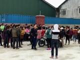 Hà Tĩnh: Hàng trăm công nhân may đình công