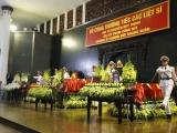 Tổ chức trọng thể lễ tang 3 liệt sỹ công an hy sinh khi làm nhiệm vụ