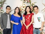 Giáng My, Lý Hương, Phương Lê cùng nhau khoe sắc với váy Hoàng Hải