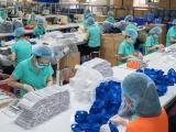 Xuất khẩu gần 4 triệu khẩu trang y tế sang Trung Quốc