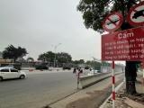 Hà Nội: Bắt đầu cấm đường tại khu vực thi công đường đua F1