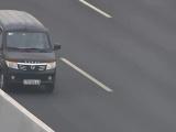 Đi ngược chiều trên cao tốc tài xế ô tô bị phạt 17 triệu đồng, tước bằng lái xe 6 tháng