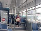 Dịch bệnh khiến các bãi xe buýt cũng trở nên vắng vẻ