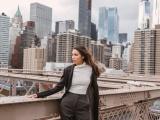 Minh Tú lại tiếp tục tung bộ ảnh street style sành điệu tại New York