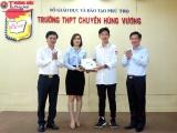 Phú Thọ: Công ty Vikore tặng 2.600 khẩu trang vải kháng khuẩn cho học sinh và người bệnh