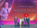Chủ tịch Tập đoàn BRG Nguyễn Thị Nga được vinh danh Nữ Doanh Nhân có tầm ảnh hưởng lớn khu vực ASEAN