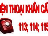 Từ 1/4, miễn phí các cuộc gọi đến số 113, 114, 115