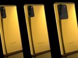 Sắp phát hành Galaxy S20 Series phủ vàng 24K