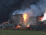 Hà Nội: Cháy lớn tại kho xưởng rộng hàng nghìn m2