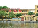 Công ty HUDIC được lựa chọn thi công Trường THPT Hồng Quang: Nhiều chi tiết chưa đạt!
