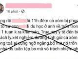 Quảng Ninh: Xử phạt 7,5 triệu đồng chủ tài khoản Facebook đăng tin thất thiệt về dịch Covid-19