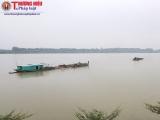 Thanh Hóa: Mỏ cát số 5 của Công ty Hưng Đô khai thác cát ngoài mốc lộ giới