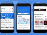 Facebook ra mắt trung tâm thông tin Covid-19 trên News Feed