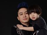 Tùng Dương khoe bộ ảnh 'cực yêu' bên con trai 4 tuổi