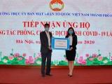 Tập đoàn CEO ủng hộ 2 tỷ đồng cùng Hà Nội chống dịch Covid-19