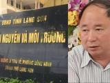 Phó giám đốc Sở TN&MT tỉnh Lạng Sơn bị bắt