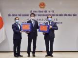 Việt Nam trao tặng vật tư y tế cho Nhật Bản, Hoa Kỳ và Nga