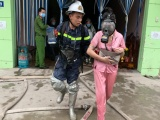 Hà Nội: Giải cứu thành công 14 người bên trong nhà nghỉ bốc cháy