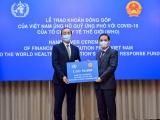 Việt Nam ủng hộ 50 nghìn USD cho Quỹ ứng phó Covid-19 của WHO