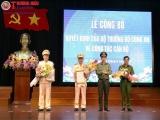 Hà Tĩnh: Công bố quyết định bổ nhiệm 2 Phó Giám đốc Công an tỉnh