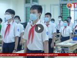 Học sinh háo hức trở lại trường sau nhiều tháng nghỉ phòng dịch Covid-19