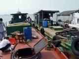 Hải Phòng: Xử lý tàu sang mạn dầu trái phép trên biển