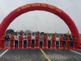 Dự án cầu Thịnh Long chính thức được thông xe