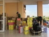 Quảng Ninh: Phạt 8 triệu đồng lái xe vận chuyển hàng hóa không rõ nguồn gốc