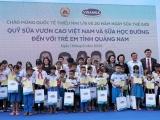 Vinamilk dành tặng món quà 1/6 đặc biệt đến với trẻ em Quảng Nam