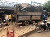 Vụ xe tải lao vào chợ làm 5 người tử vong ở Đắk Nông: Khởi tố, bắt tạm giam tài xế