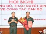 Đại tá Hoàng Đình Chung được bổ nhiệm chức vụ Chủ nhiệm chính trị Quân khu 7
