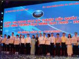 11 dự án đạt giải nhất Cuộc thi Khoa học kỹ thuật cấp quốc gia
