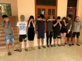 Hải Dương: Phát hiện 9 đối tượng dương tính với ma túy tại quán karaoke 68