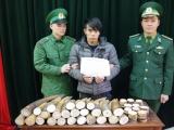 Cao Bằng: Bắt giữ đối tượng vận chuyển trái phép 51kg ngà voi