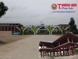 Hà Tĩnh: Công ty Đức Thắng 'ngang nhiên' làm nhà gỗ trái phép tại dự án trường mầm non