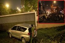 TPHCM: Ô tô tông liên tiếp nhiều xe máy, 5 người thương vong