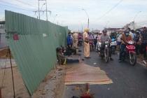 Long An: Tai nạn giao thông tại khu vực cầu Voi, 1 người tử vong